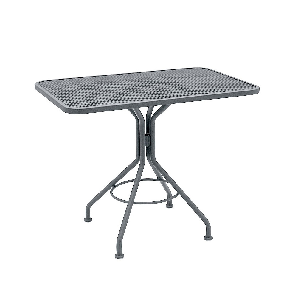 Woodard 30 Inch Square Contract Plus Bistro Umbrella Table - 280027