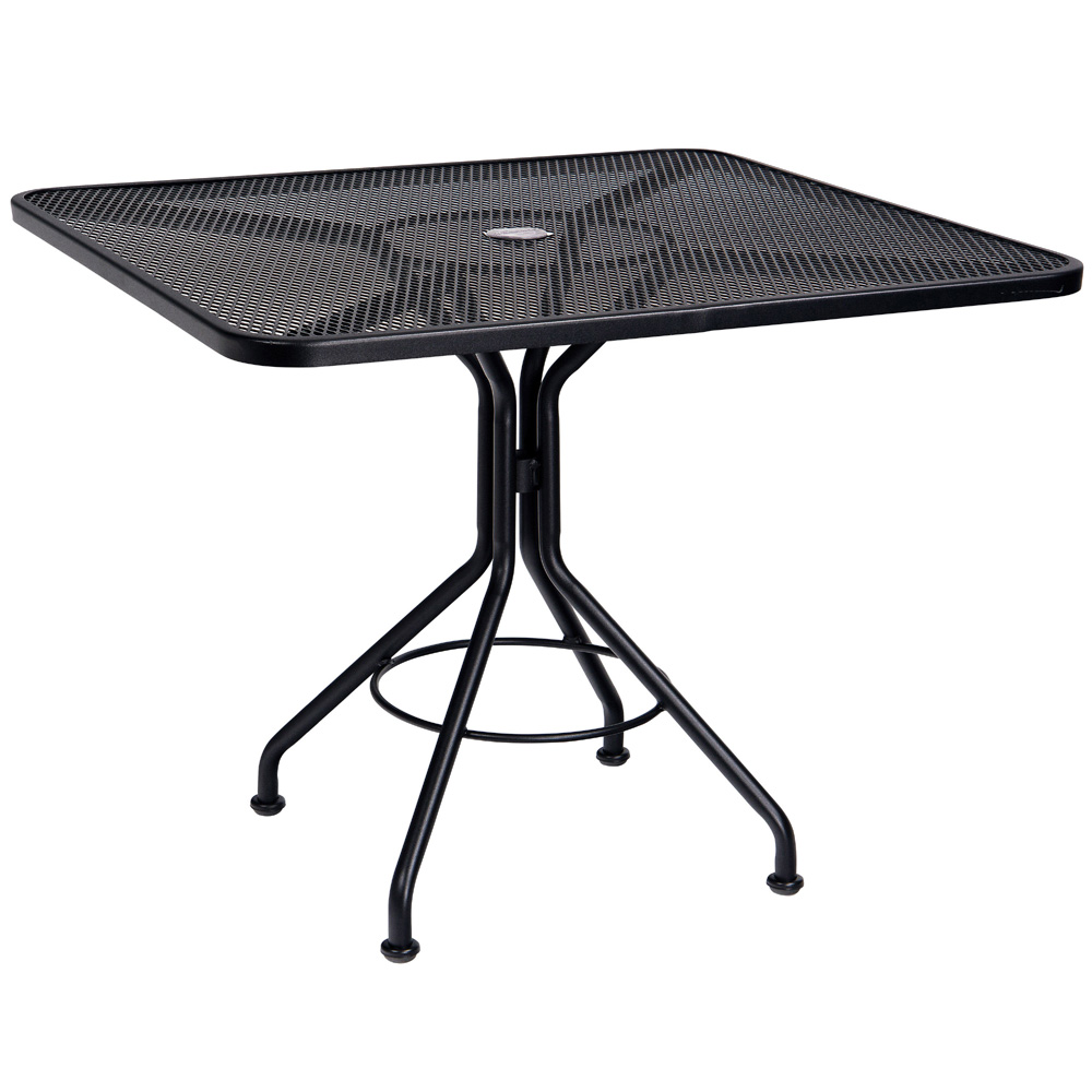 Woodard 36 Inch Square Contract Plus Bistro Umbrella Table - 280029