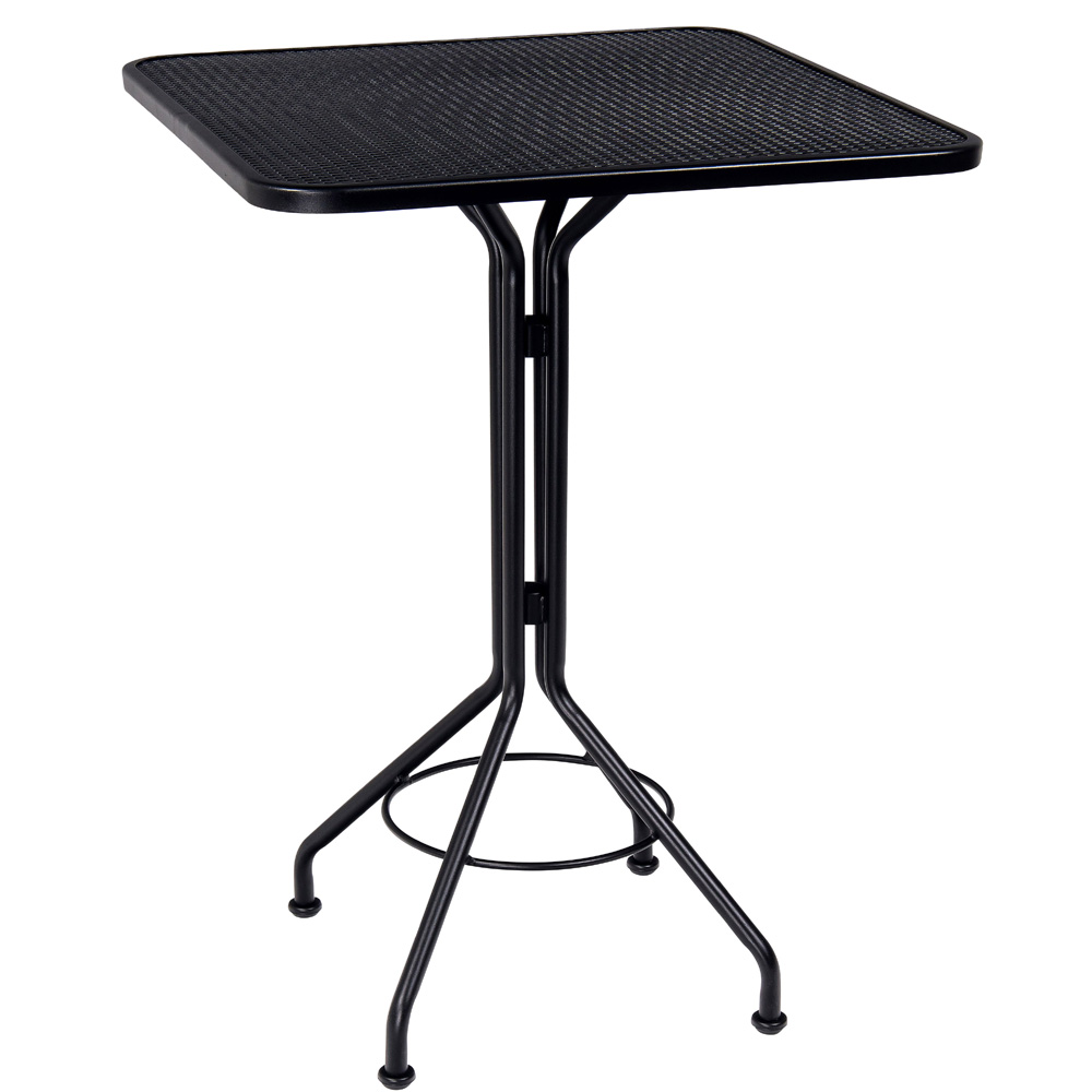 Woodard 30 Inch Square Contract Plus Bar Height Table - 280098