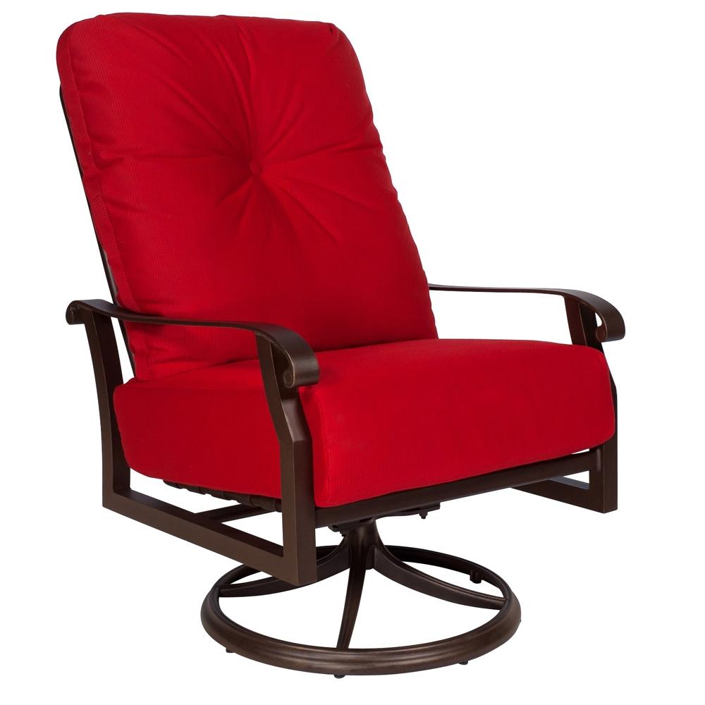 Woodard Cortland Cushion Extra Large Swivel Rocker 4Z0677