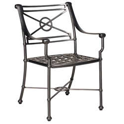 Woodard Delphi Dining Arm Chair - 850410