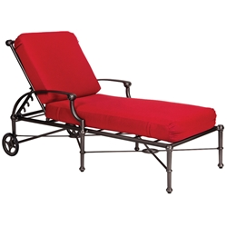 Woodard Delphi Cushion Adjustable Chaise Lounge - 850470