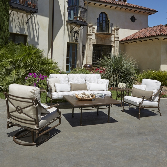 Woodard Delphi Outdoor Sofa and Lounge Chair Set - WD-DELPHI-SET1