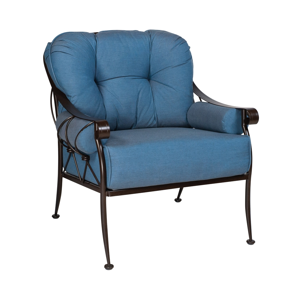 Woodard Ramsgate Strap Club Chair 160406
