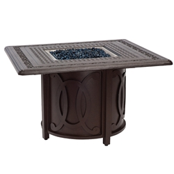 Woodard Belden Square Fire Table - 69M741