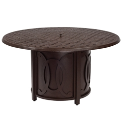 Woodard Belden Round Fire Table - 69M747