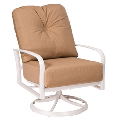 Woodard Fremont Cushion Swivel Rocker Lounge Chair - 9U0477
