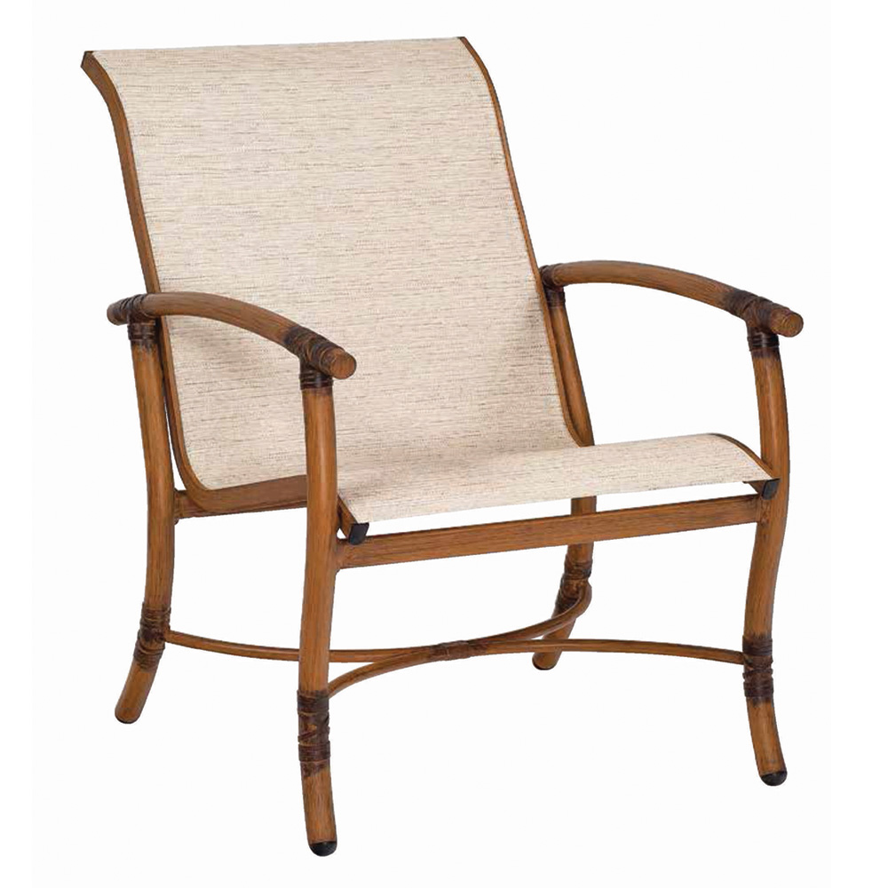 woodard glade isle sling lounge chair 1q0406