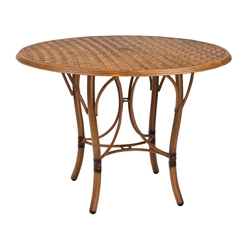Woodard Glade Isle 42 inch Round Counter Table - 1T55BT