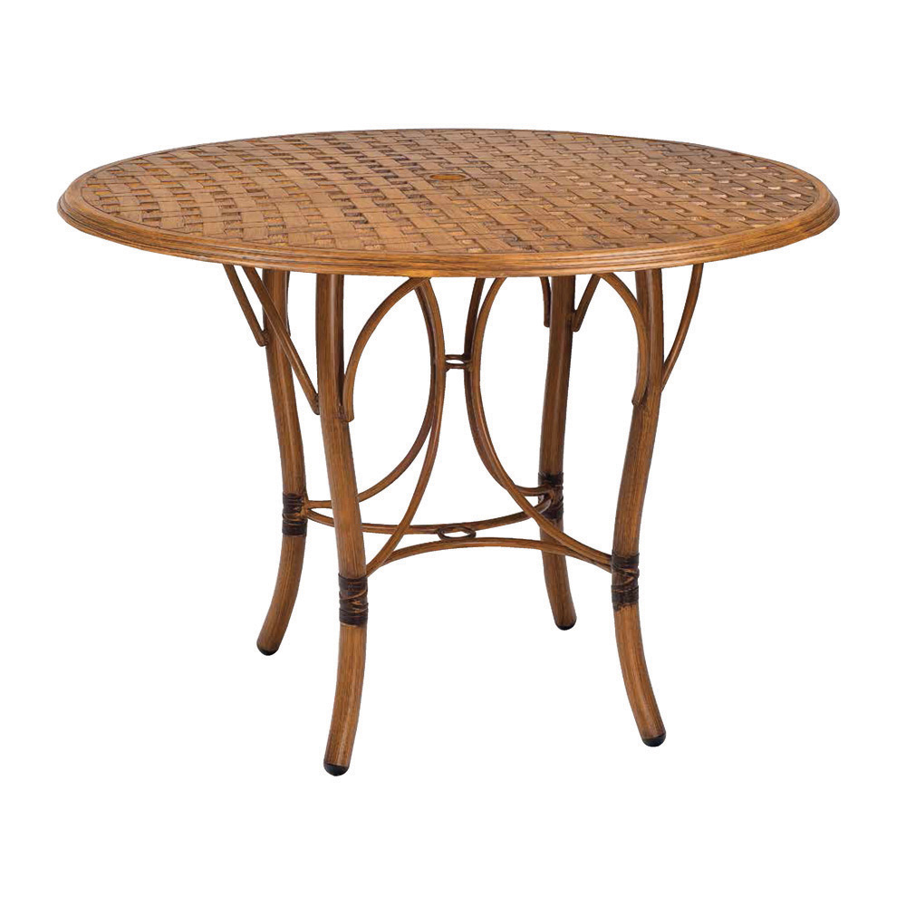 Woodard glade isle 42 inch round counter table 1t55bt for Table 52 botswana