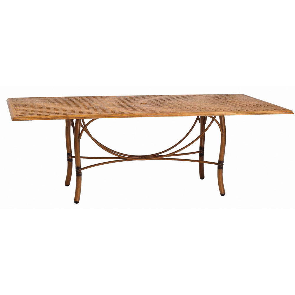 Woodard Glade Isle Rectangle Dining Table - 1T72BT