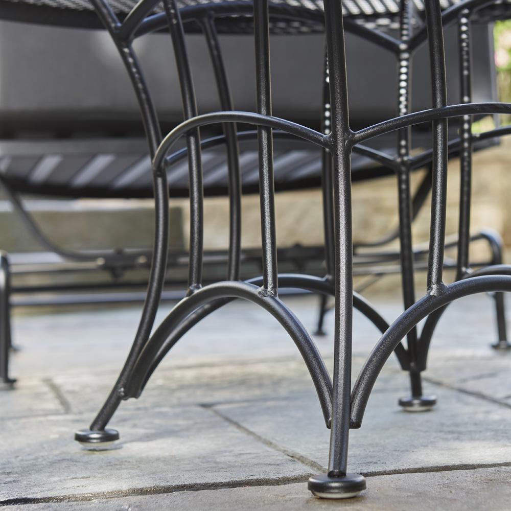 Woodard Hamilton Wrought Iron End Table 6k0244