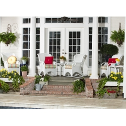 Woodard Heirloom Porch Rocking Chair and Lounge Chair Set - WD-HEIRLOOM-SET2