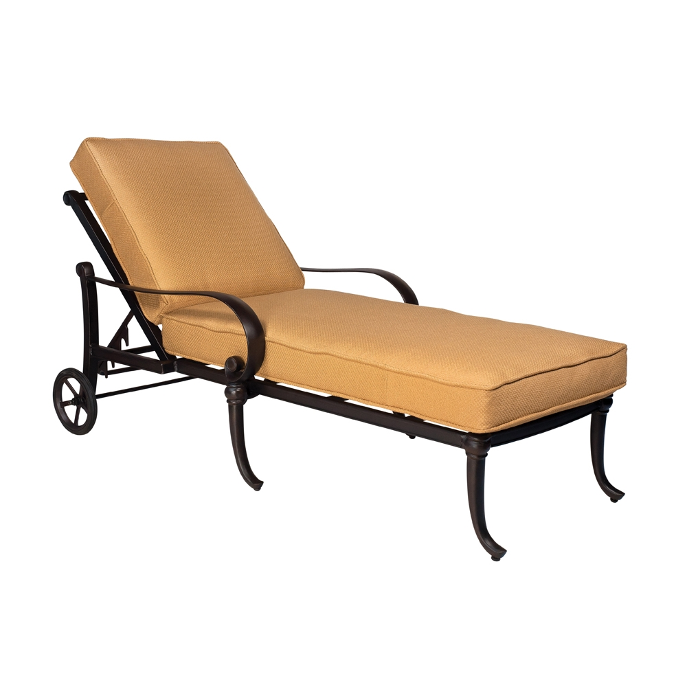 Woodard Holland Adjustable Chaise Lounge - 7z0470