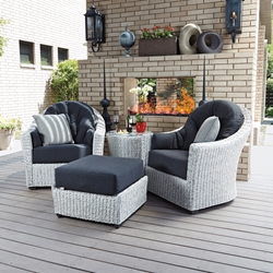 Woodard Isaballa 4 Piece Patio Set