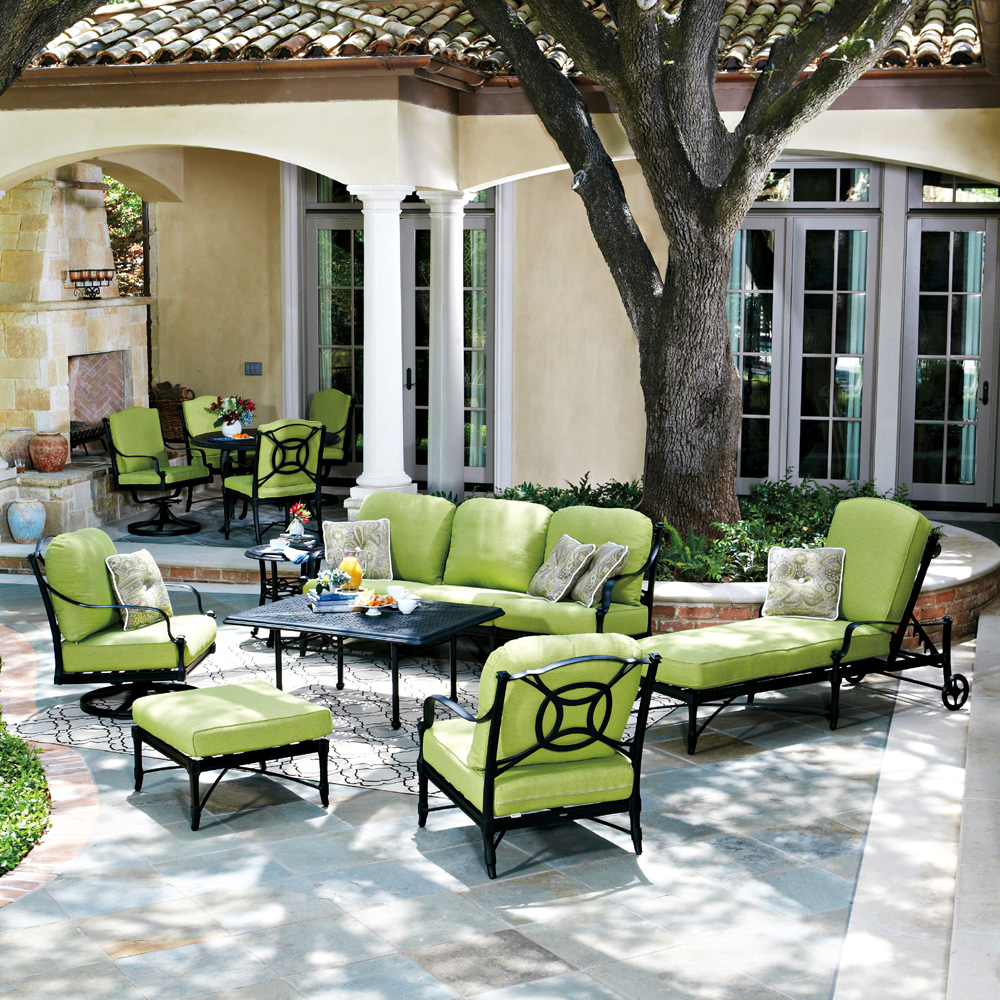 Woodard Isla 7 Piece Outdoor Lounge Set - WD-ISLA-SET2