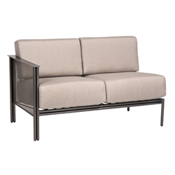 Woodard Jax Left Arm Facing Sectional Loveseat - 2J0095