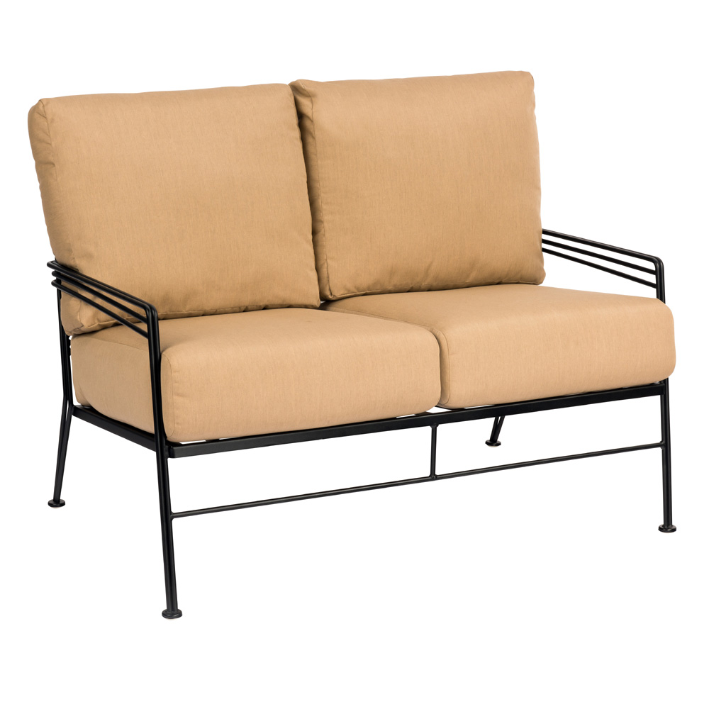Woodard Madison Wrought Iron Love Seat - 2D0019