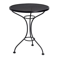 "25"" Round Mesh Top Bistro Table"