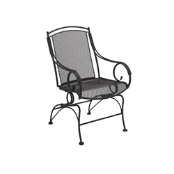 Woodard Modest Coil Spring Dining Chair - 260066