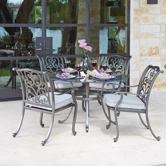 Woodard New Orleans 5 Piece Dining Set Wd Neworleans Set3