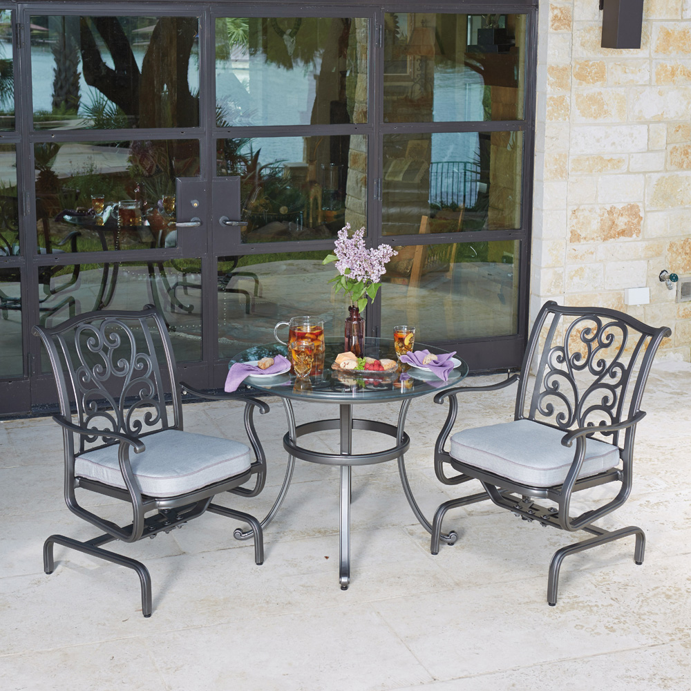 Woodard New Orleans 3 Piece Bistro Set - WD-NEWORLEANS-SET4