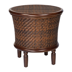 Woodard North Shore Round Storage End Table - S540201