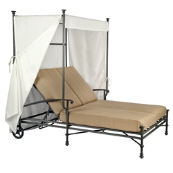 Woodard Nova Double Chaise With Canopy - 1V0770
