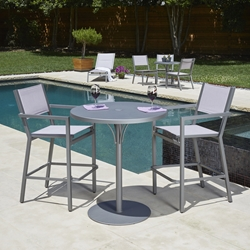 Woodard Palm Coast 3 Piece Patio Bar Set - WD-PALMCOAST-SET1