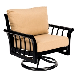 Woodard Rhyss Swivel Rocking Lounge Chair - 7Y0477