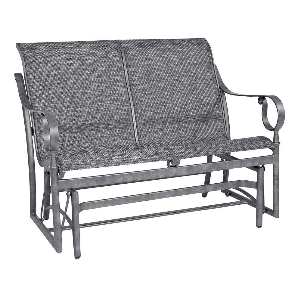 Woodard ridgecrest sling glider 80m473 for Woodard patio furniture