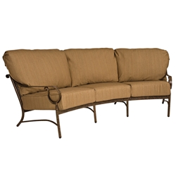 Woodard Ridgecrest Cushion Crescent Sofa - 8P0464