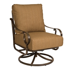 Woodard Ridgecrest Cushion Swivel Rocking Lounge Chair - 8P0477