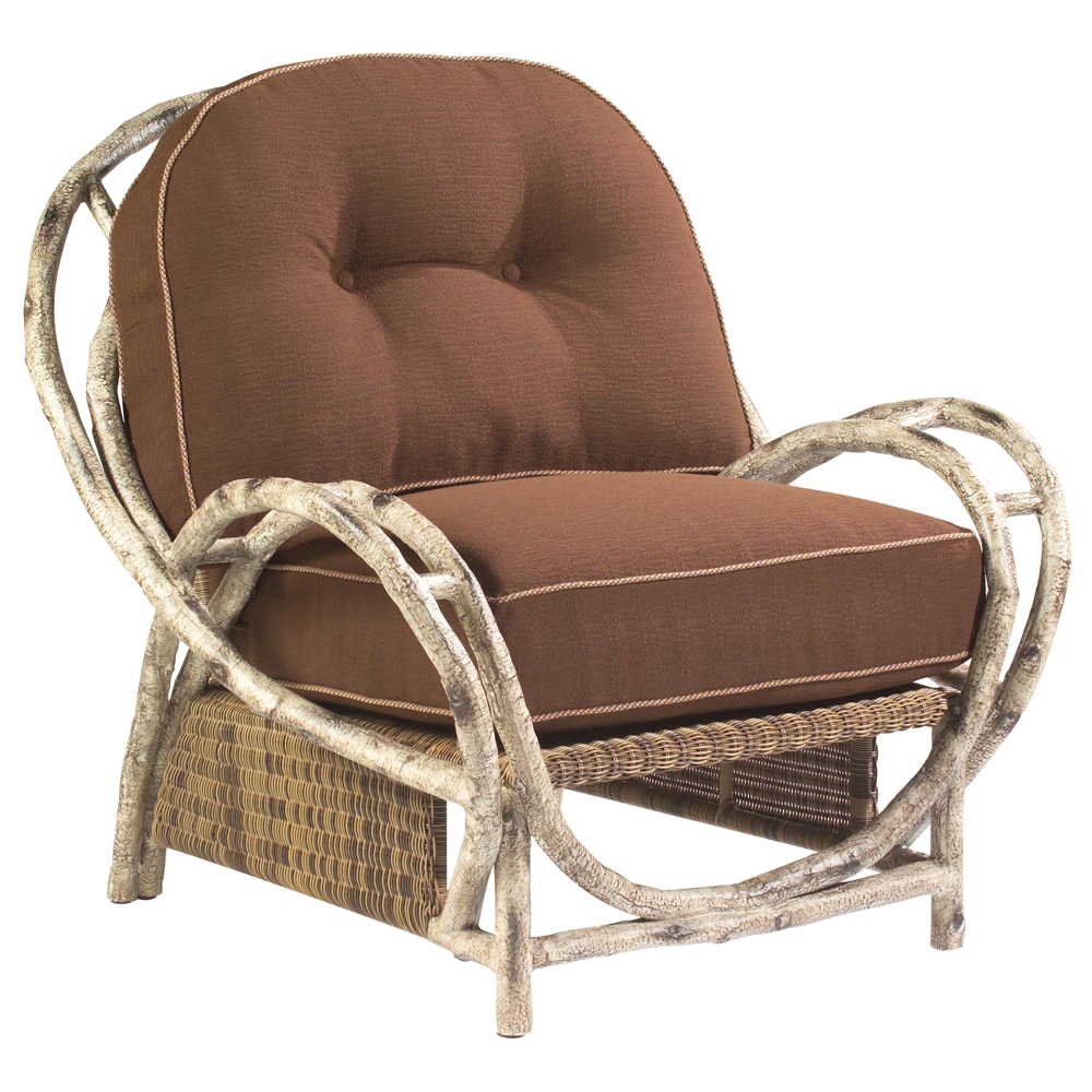 Woodard River Run Birch Lodge Butterfly Lounge Chair