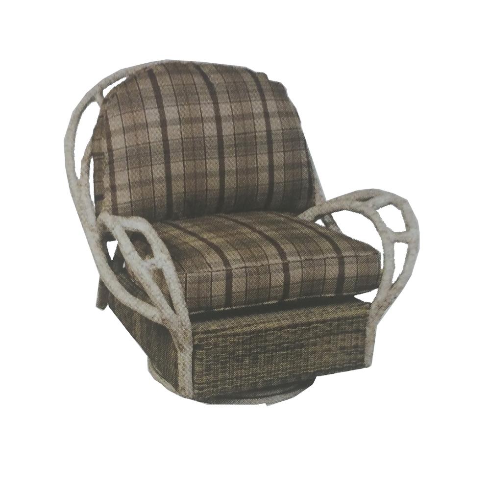Woodard River Run Swivel Butterfly Lounge Chair