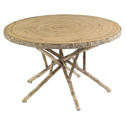 Woodard River Run Birch Heartwood Dining Table - S545702