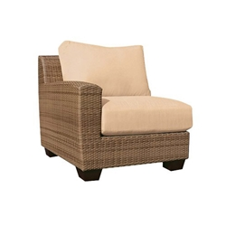 Woodard Saddleback Left Arm Facing Chair - S523013L