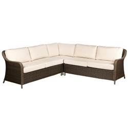 Woodard Savannah 3 Piece Sectional - S620061