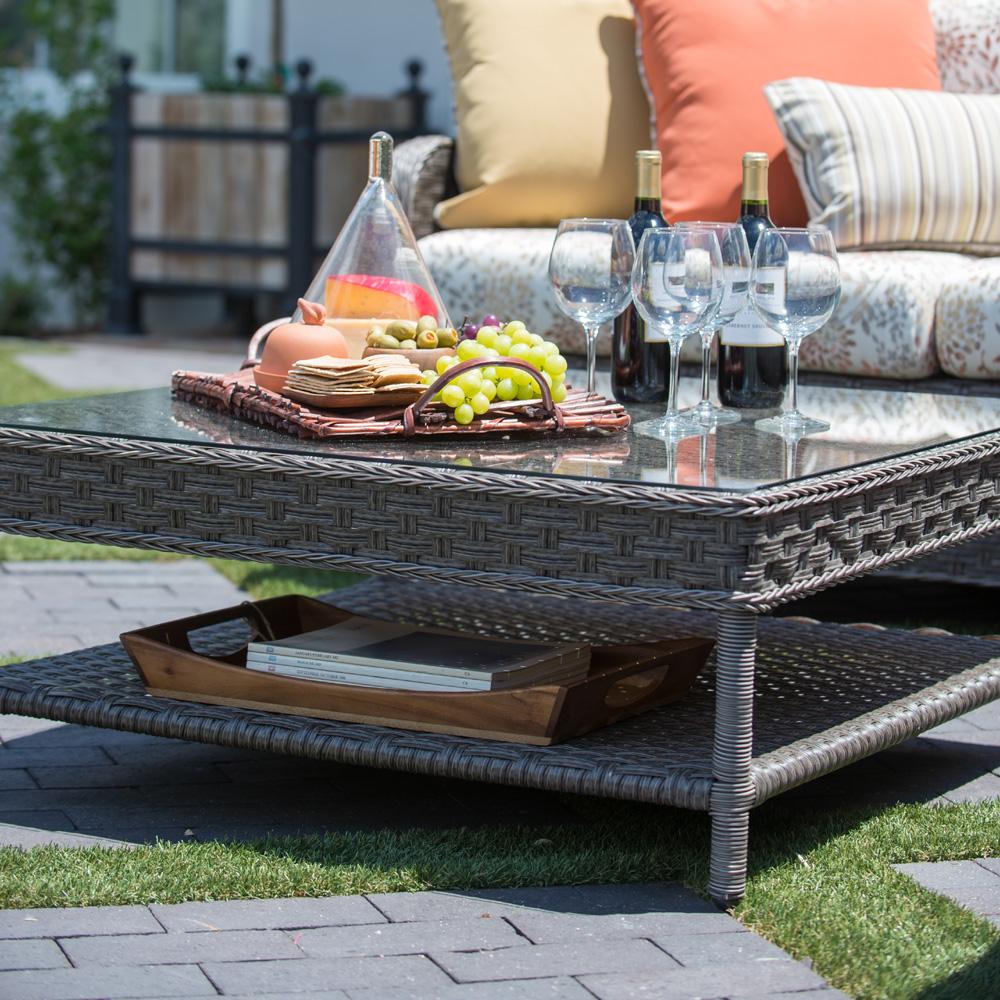 Outdoor Patio Furniture Savannah Ga: Woodard Savannah Patio Sectional Set