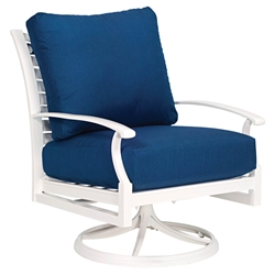 Woodard Sheridan Swivel Rocking Lounge chair - 9N0477