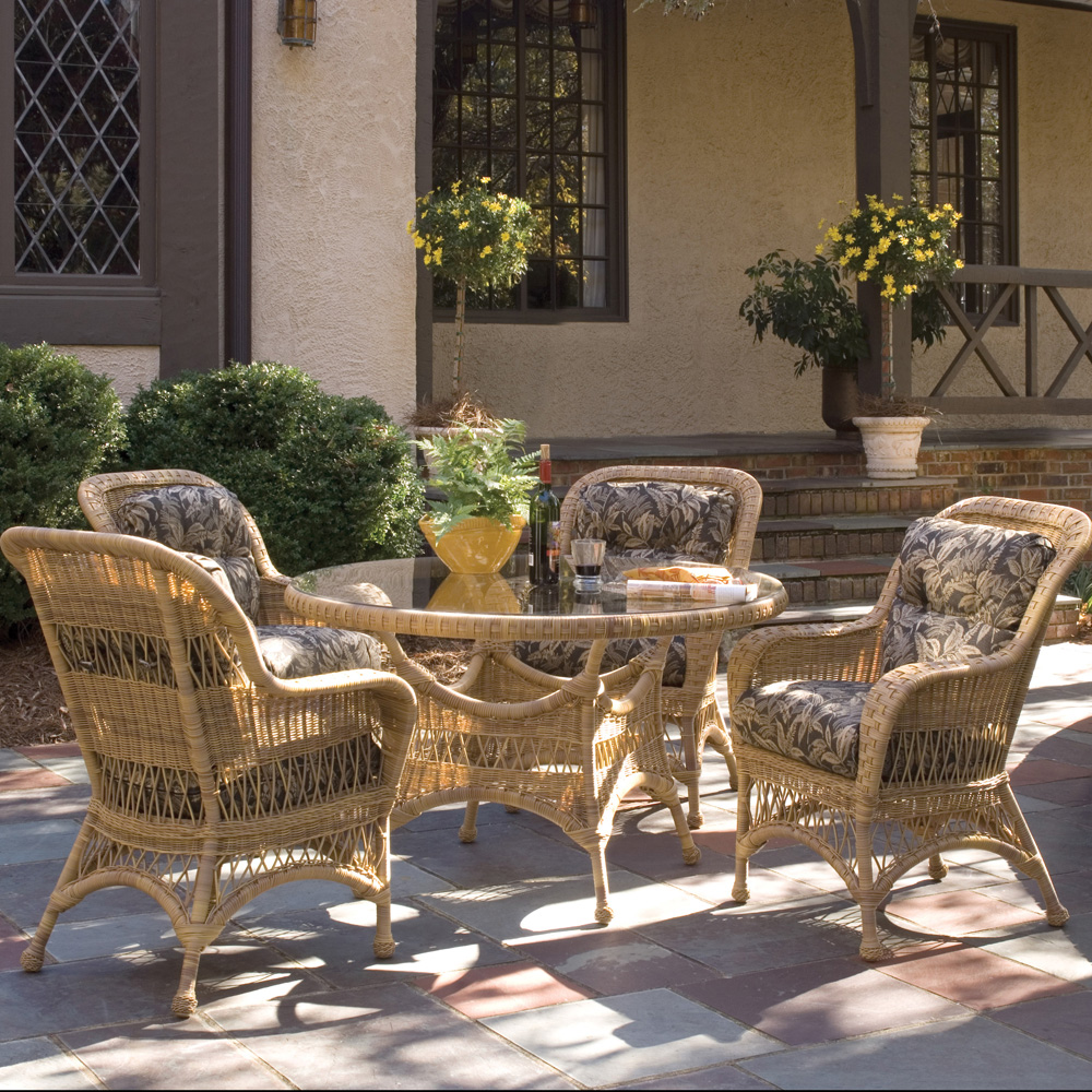Woodard Sommerwind 5 Piece Patio Dining Set - WC-SOMMERWIND-SET1