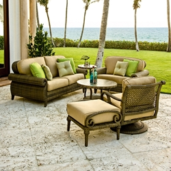 Woodard South Shore 6 Piece Patio Lounge Set - WHITECRAFT-SOUTHSHORE-SET2