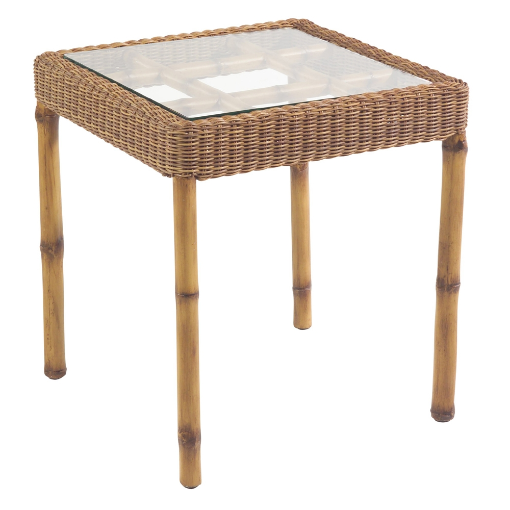 Woodard South Terrace Square End Table - S610201