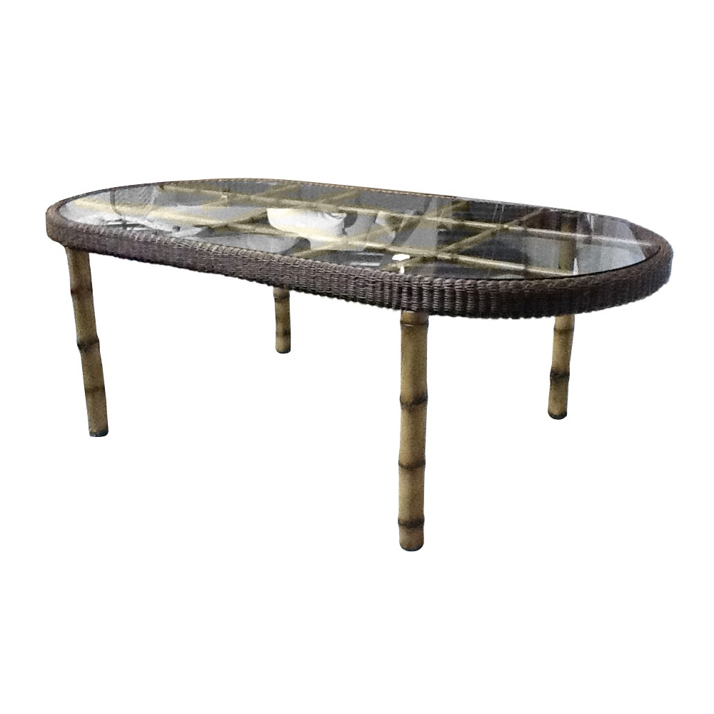 Woodard South Terrace Oval Dining Table - S610604