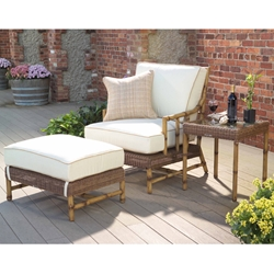 Woodard South Terrace Lounge Chair Set - WHITECRAFT-SOUTHTERRACE-SET1