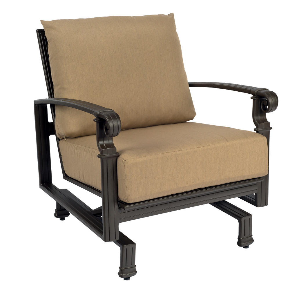 Woodard Spartan Spring Base Lounge Chair   390465