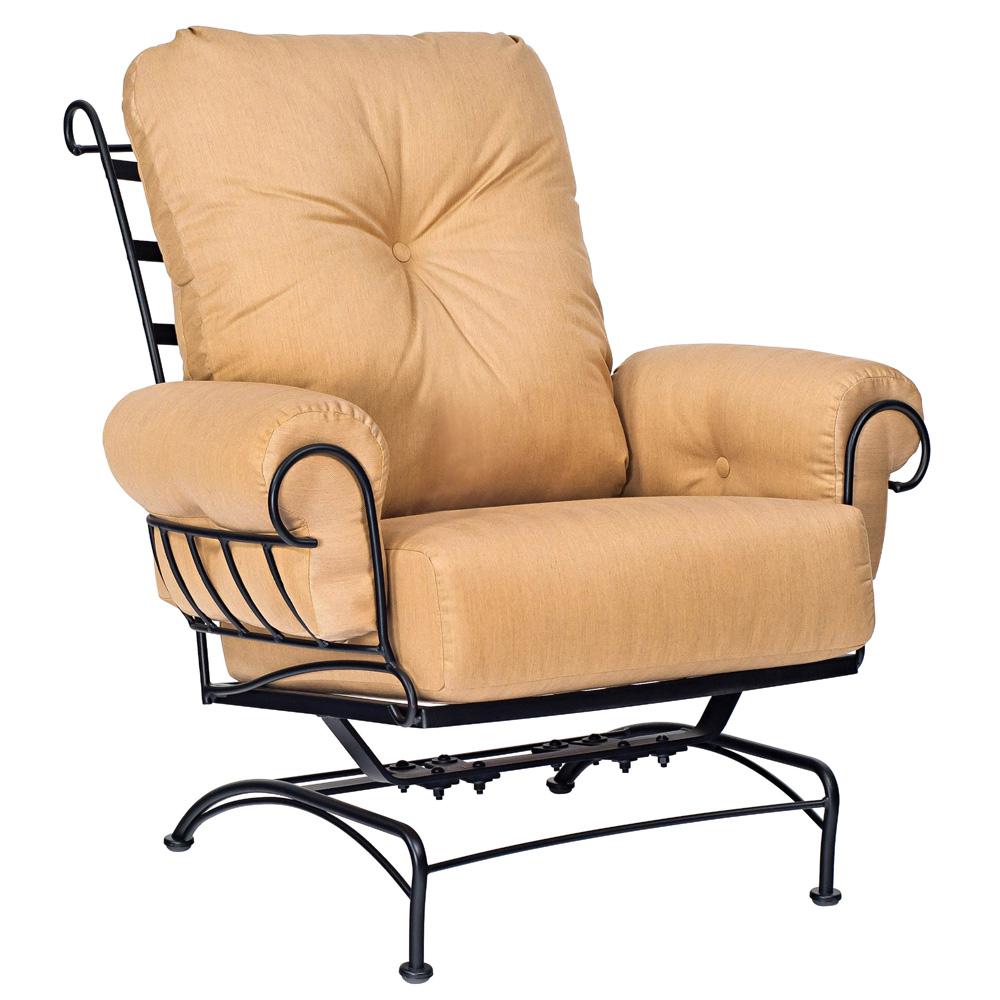 Woodard Terrace Spring Lounge Chair   790065 · Terrace Wrought Iron ...