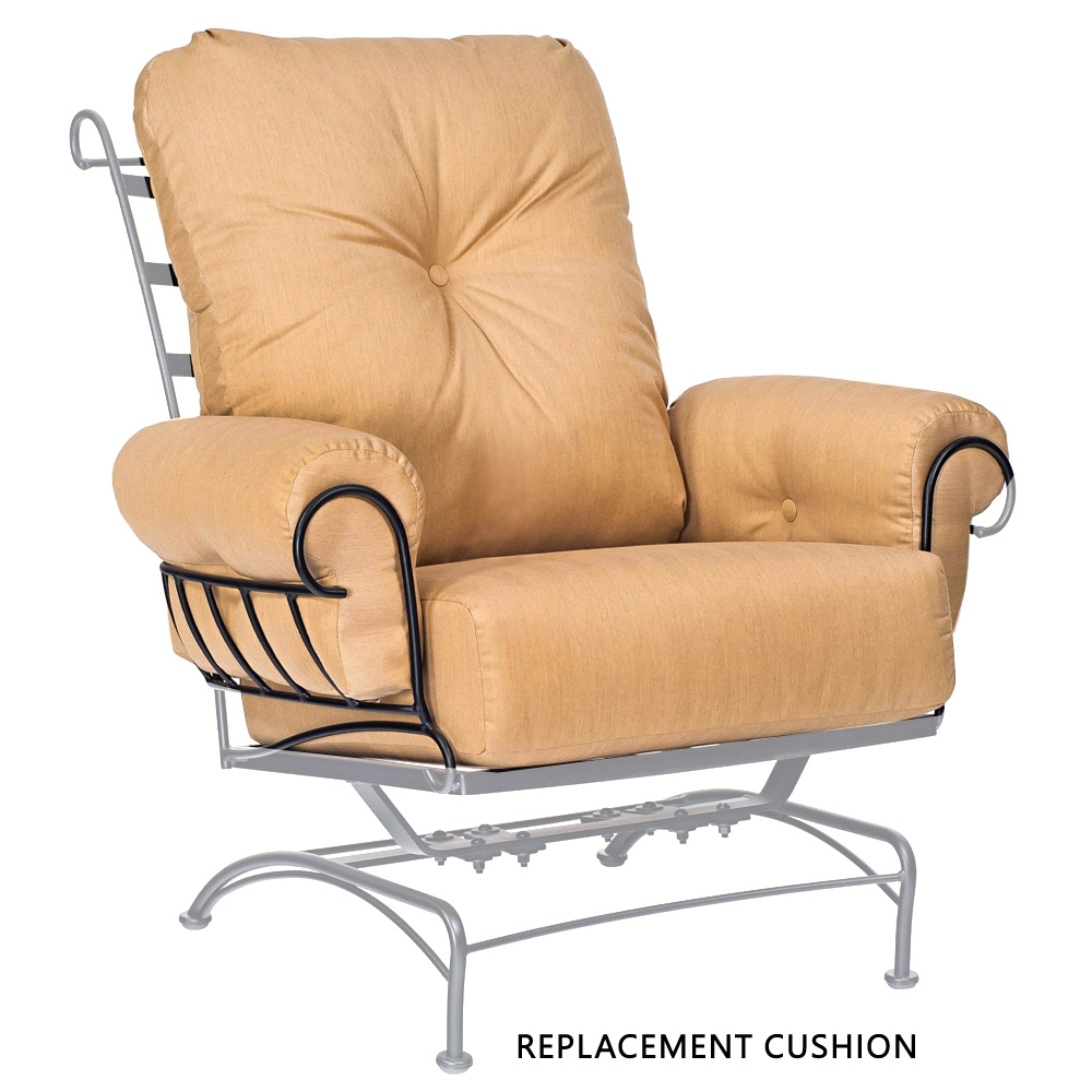 Woodard Terrace Spring Lounge Chair Replacement Cushion - 79W065