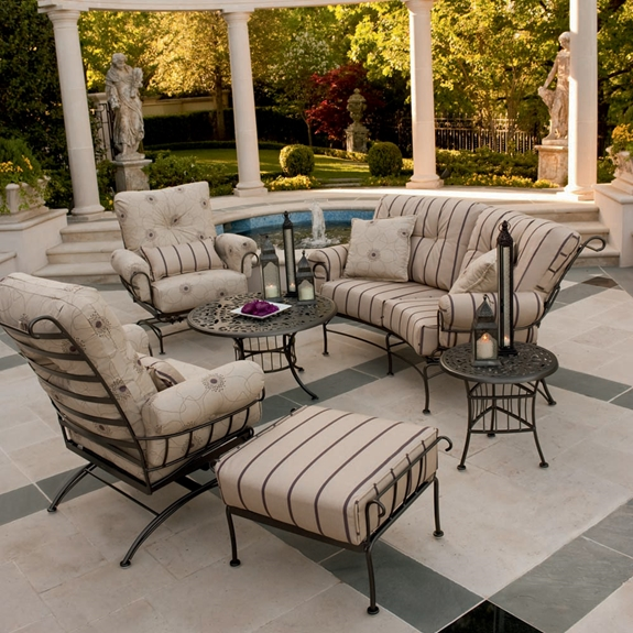 Woodard Terrace 6 Piece Patio Lounge Set - WOODARD-TERRACE-LOUNGE6