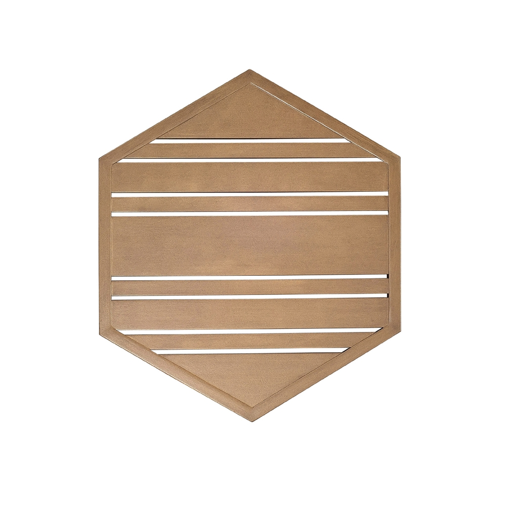 Woodard Tri Slat 22 Inch Hexagonal Top 2623